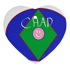 Chadart Heart Ornament (Two Sides)