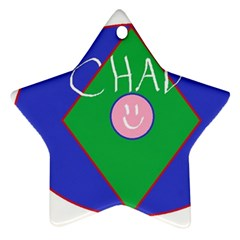 Chadart Star Ornament (Two Sides)