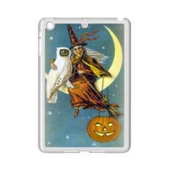 Vintage Halloween Witch Apple iPad Mini 2 Case (White)