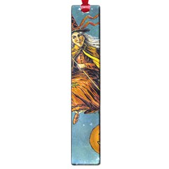 Vintage Halloween Witch Large Bookmark