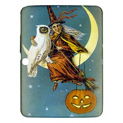 Vintage Halloween Witch Samsung Galaxy Tab 3 (10.1 ) P5200 Hardshell Case
