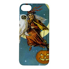 Vintage Halloween Witch Apple iPhone 5S Hardshell Case