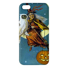 Vintage Halloween Witch iPhone 5S Premium Hardshell Case