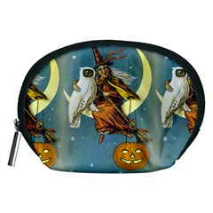 Vintage Halloween Witch Accessory Pouch (Medium)