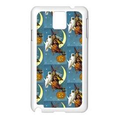 Vintage Halloween Witch Samsung Galaxy Note 3 N9005 Case (White)