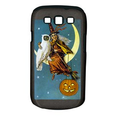 Vintage Halloween Witch Samsung Galaxy S III Classic Hardshell Case (PC+Silicone)