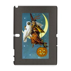 Vintage Halloween Witch Samsung Galaxy Note 10.1 (P600) Hardshell Case