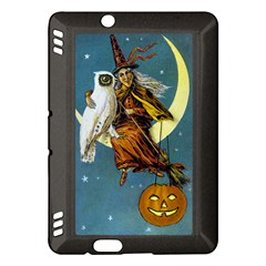 Vintage Halloween Witch Kindle Fire HDX 7  Hardshell Case