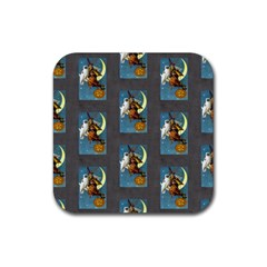 Vintage Halloween Witch Drink Coaster (Square)
