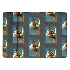 Vintage Halloween Witch Samsung Galaxy Tab 10.1  P7500 Flip Case