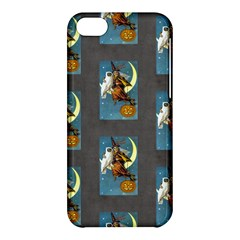 Vintage Halloween Witch Apple iPhone 5C Hardshell Case