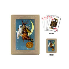 Vintage Halloween Witch Playing Cards (Mini)