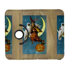 Vintage Halloween Witch Samsung Galaxy S  III Flip 360 Case