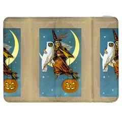 Vintage Halloween Witch Samsung Galaxy Tab 7  P1000 Flip Case