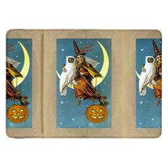 Vintage Halloween Witch Samsung Galaxy Tab 8.9  P7300 Flip Case