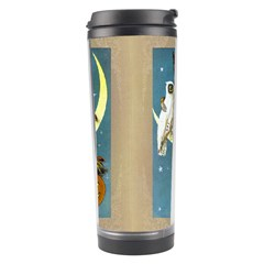 Vintage Halloween Witch Travel Tumbler