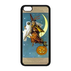 Vintage Halloween Witch Apple iPhone 5C Seamless Case (Black)