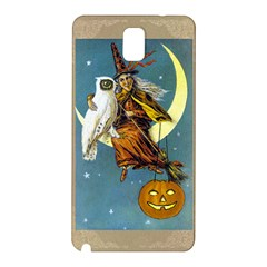 Vintage Halloween Witch Samsung Galaxy Note 3 N9005 Hardshell Back Case
