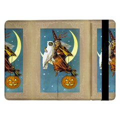 Vintage Halloween Witch Samsung Galaxy Tab Pro 12.2  Flip Case