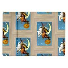 Vintage Halloween Witch Samsung Galaxy Tab 10.1  P7500 Flip Case