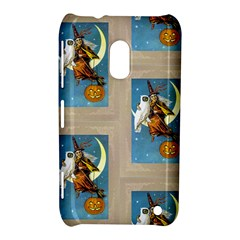 Vintage Halloween Witch Nokia Lumia 620 Hardshell Case