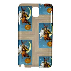 Vintage Halloween Witch Samsung Galaxy Note 3 N9005 Hardshell Case