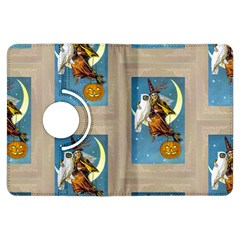 Vintage Halloween Witch Kindle Fire HDX 7  Flip 360 Case