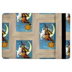 Vintage Halloween Witch Apple iPad Air Flip Case