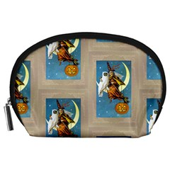 Vintage Halloween Witch Accessory Pouch (Large)
