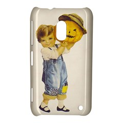 Vintage Halloween Child Nokia Lumia 620 Hardshell Case