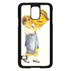 Vintage Halloween Child Samsung Galaxy S5 Case (Black)