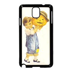 Vintage Halloween Child Samsung Galaxy Note 3 Neo Hardshell Case (Black)