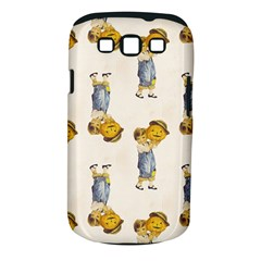 Vintage Halloween Child Samsung Galaxy S III Classic Hardshell Case (PC+Silicone)