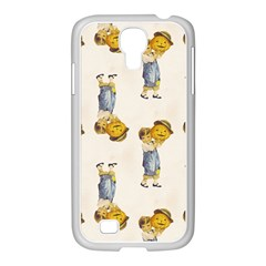 Vintage Halloween Child Samsung GALAXY S4 I9500/ I9505 Case (White)