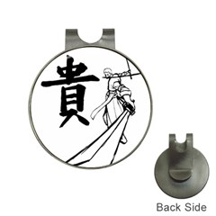 A Swordsman s Honor Hat Clip with Golf Ball Marker