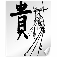 A Swordsman s Honor Canvas 11  x 14  (Unframed)