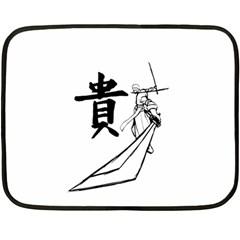 A Swordsman s Honor Mini Fleece Blanket (Two Sided)