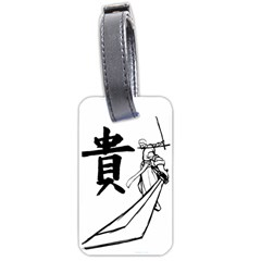 A Swordsman s Honor Luggage Tag (Two Sides)
