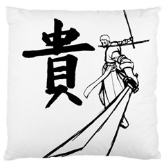 A Swordsman s Honor Large Cushion Case (two Sided)