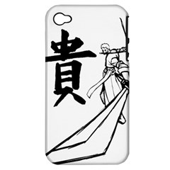 A Swordsman s Honor Apple Iphone 4/4s Hardshell Case (pc+silicone)