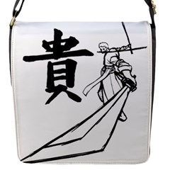 A Swordsman s Honor Flap Closure Messenger Bag (small)