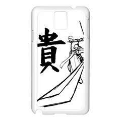 A Swordsman s Honor Samsung Galaxy Note 3 N9005 Case (White)