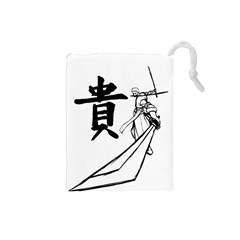 A Swordsman s Honor Drawstring Pouch (Small)