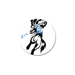 Alpha Dog Golf Ball Marker 4 Pack
