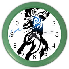 Alpha Dog Wall Clock (Color)