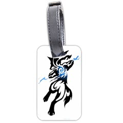 Alpha Dog Luggage Tag (Two Sides)