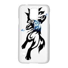 Alpha Dog Samsung Galaxy S5 Case (white)