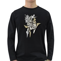 The Flying Dragon Men s Long Sleeve T Shirt (dark Colored)