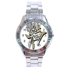 The Flying Dragon Stainless Steel Watch
