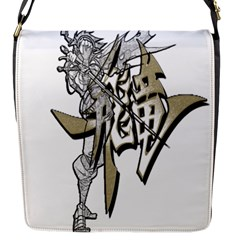 The Flying Dragon Flap Closure Messenger Bag (small)